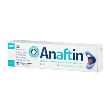 Anaftin Gel na afty 8 ml