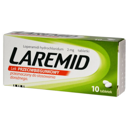 LAREMID 2 mg x 10 tabletek