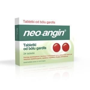 NEO-ANGIN x 24 tabletki do ssania