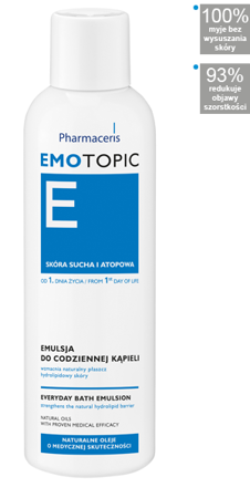 PHARMACERIS EMOTOPIC Emulsja do kąpieli 200 ml