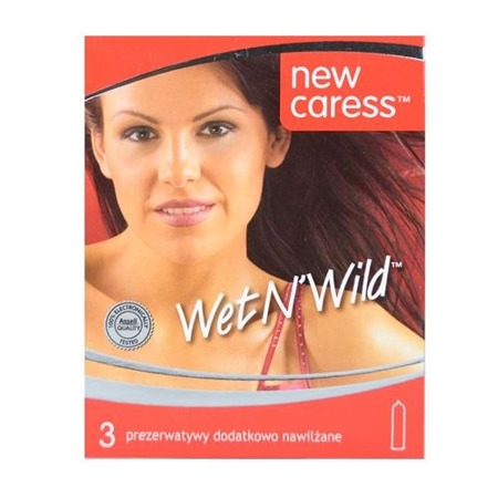 Prezerwatywy NEW CARESS wet n'wild 3szt.